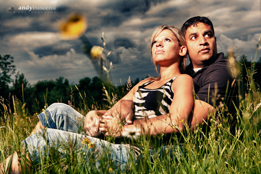 Stacie and Vin Engagement Session